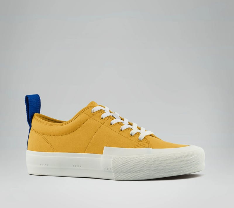 Obra yellow platform sneakers for women