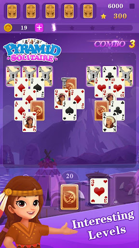 TriPeaks Cowboy Solitaire 3.0.15 screenshots 1