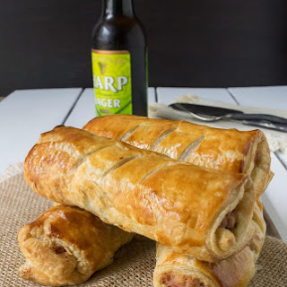Turkey, Stuffing and Cranberry Sausage Rolls Recipe