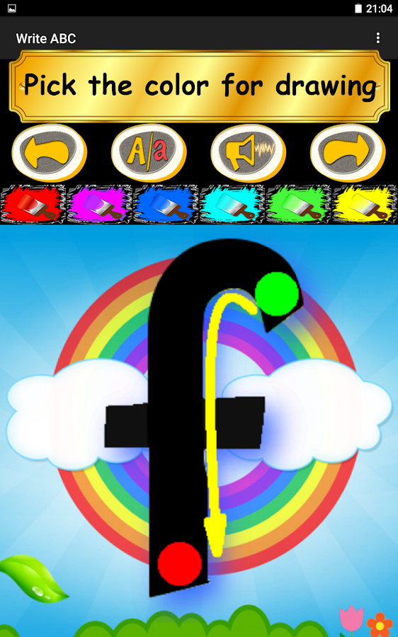 Write ABC - Learn Alphabets- screenshot