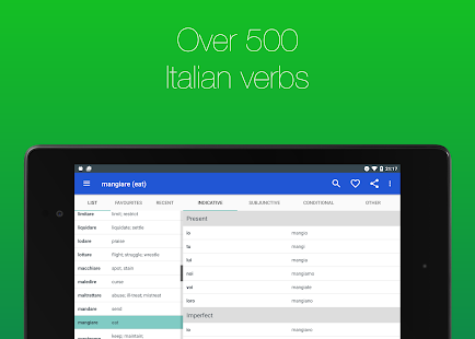 Italian Verb Conjugator- screenshot thumbnail