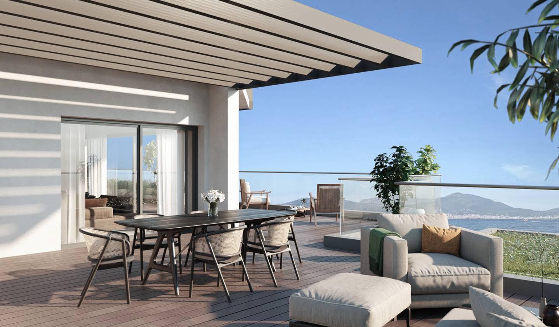 Appartement contemporain avec terrasse et piscine Grosseto-Prugna