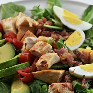 Roast Chicken Cobb Salad