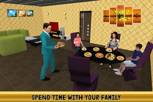 Virtual Billionaire Dad Simulator: Luxury Family apkmr screenshots 9