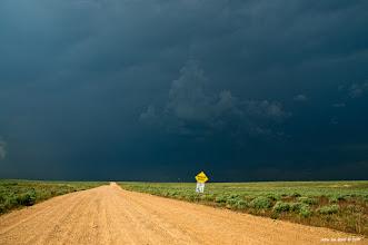 Photo: Chasing a Tornado vortex storm in Morgan County Colorado