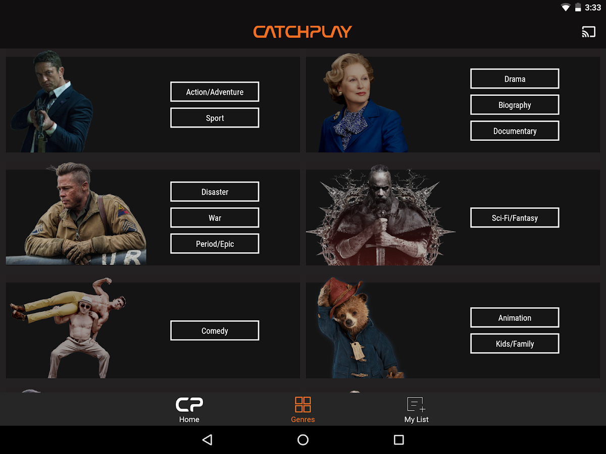 CATCHPLAY - Latest Movies- screenshot