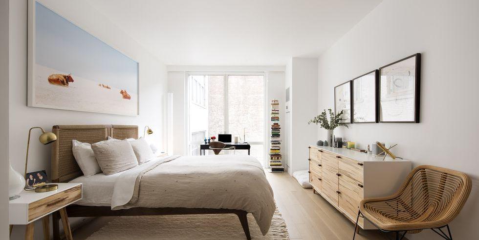 Inspirasi kamar tidur modern - source: elledecor.com