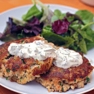 Eastern Shore Crab Cakes.