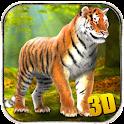 Wild Tiger Attack Simulator 3D icon