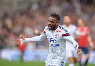 Lacazette absent contre Monaco et le PSG?