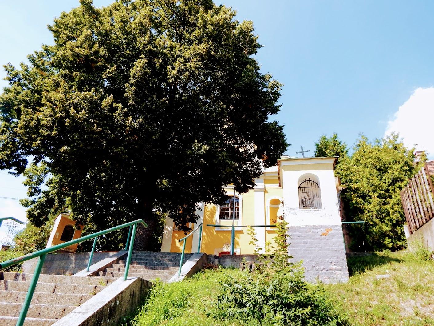 Verőce - stációs keresztút a templomdombon, kálvária