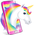 Kawaii Unicorn wallpapers 🦄 Cute background icon