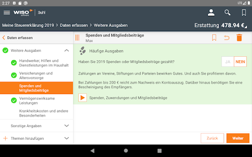 Download WISO steuer:App 2020 APK to PC