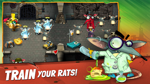 The Rats: Feed, Train and Dress Up Your Rat Family filehippodl screenshot 1