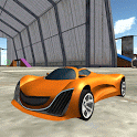 Industrial Area Car Jumping 3D icon