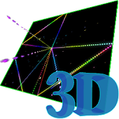 3D Star  Matrix Live Wallpaper