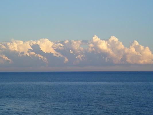Nuvole e mare blu di tizi83