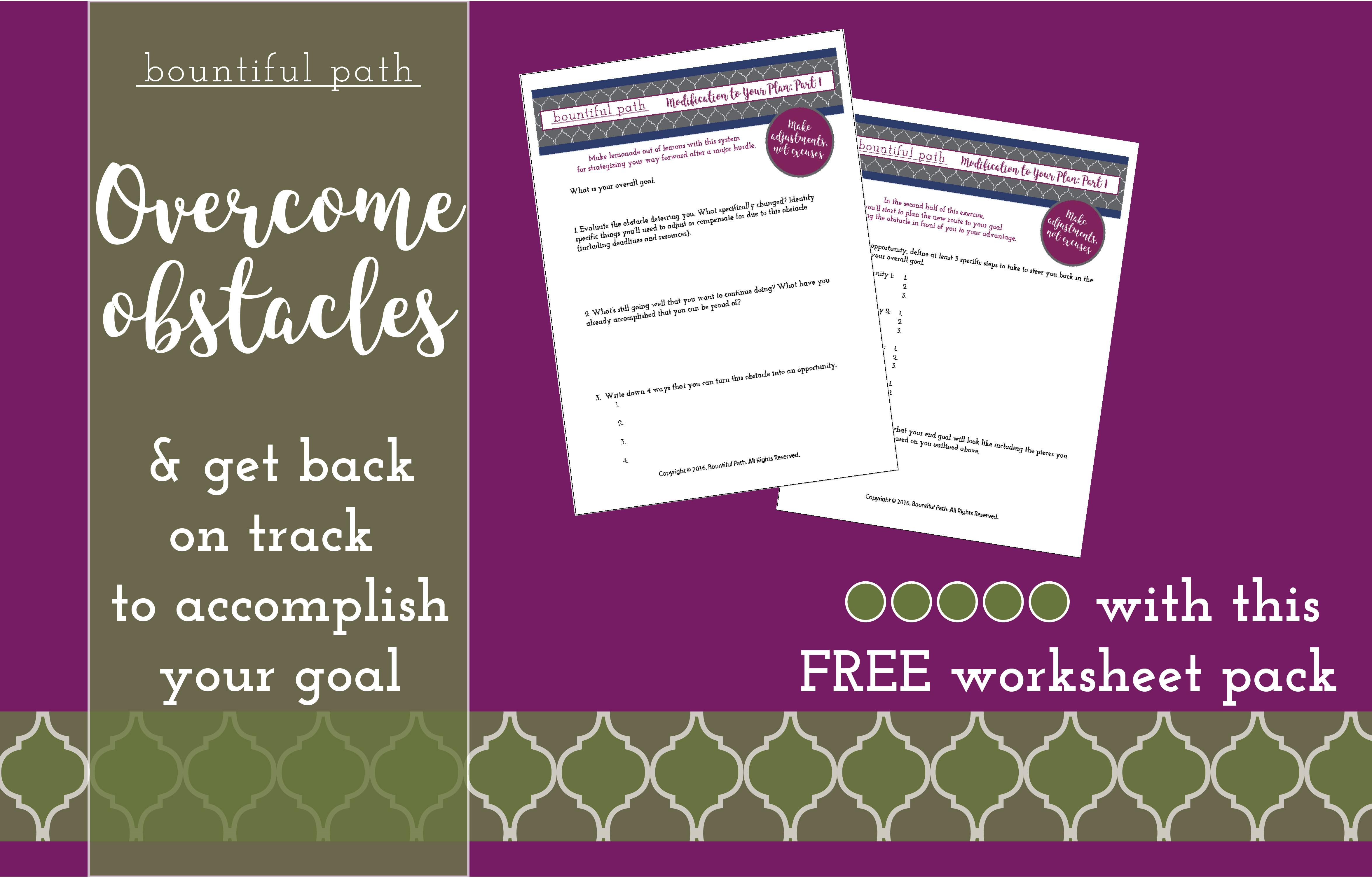 I need help accomplishing my goals!