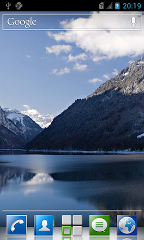 android Mountain lakes live wallpaper Screenshot 7