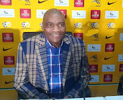 Bafana Bafana interim coach Molefi Ntseki in good spirits after announcing his first national team squad.