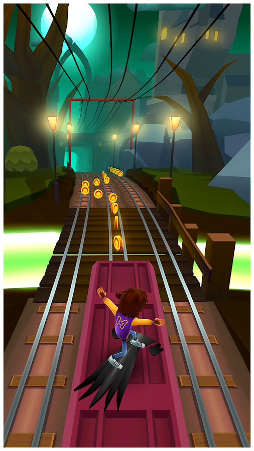Screenshots of Subway Surfers for iPhone