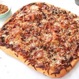 Bacon and Caramelized Onion Pizza Recipe