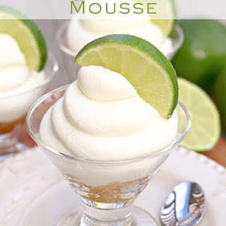 Key Lime Pie Mousse.
