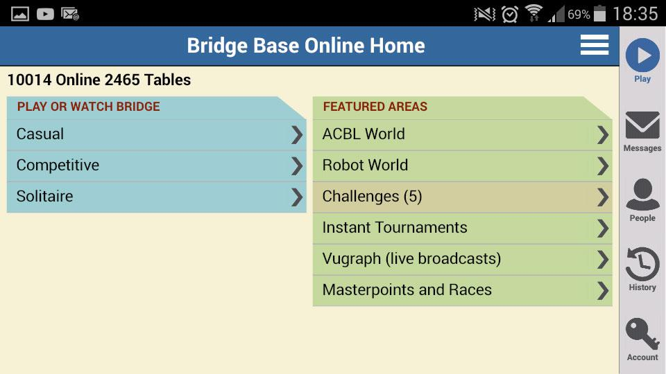 Bridge Base Online- screenshot