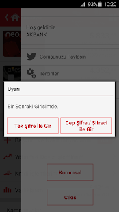 Akbank Direkt- screenshot thumbnail
