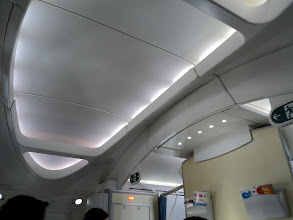 Photo: Coved ceiling gives relaxed atmosphere