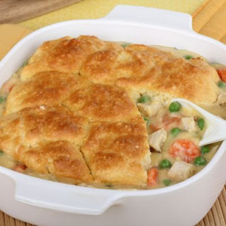 Simple Chicken Pot Pie Casserole