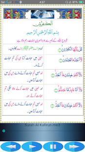 Char Qul Mishary Alfasay with Urdu Translation - náhled