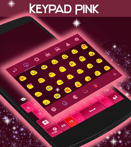 無料个人化Appのキーパッドピンク|記事Game