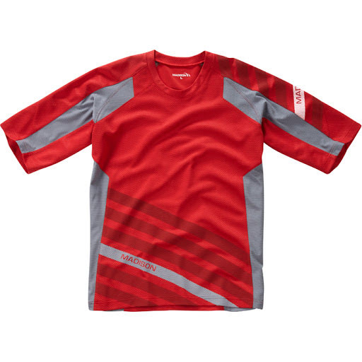 Printed Flux All Mountain Cycling Top (Mens)