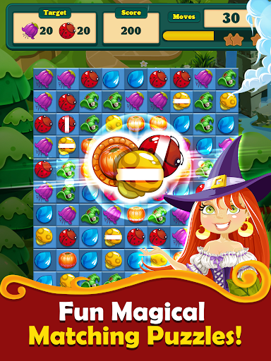 New Witchy Wizard 2019 Match 3 Games Free No Wifi screenshots 13