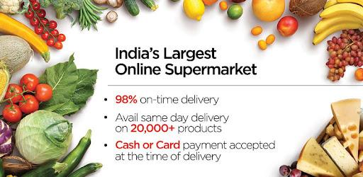 bigbasket - online grocery for PC