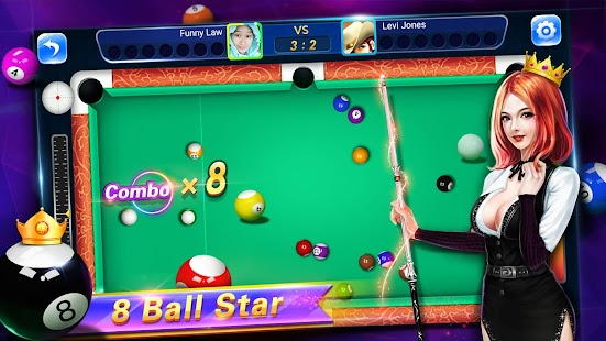 8 Ball Star - Ball Pool Billiards Screenshot