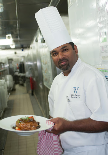 eddie-barretto-executive-chef.jpg - Eddie Barretto, executive chef of Wind Surf.