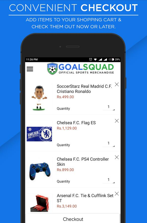 GoalSquad- screenshot