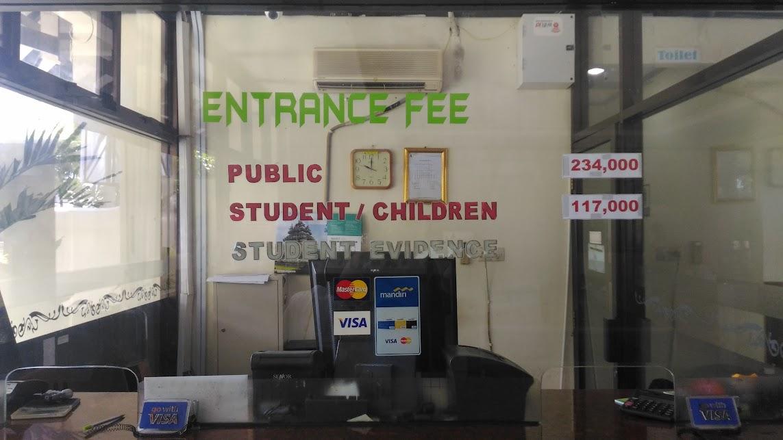 entrance fee to prambanan temples