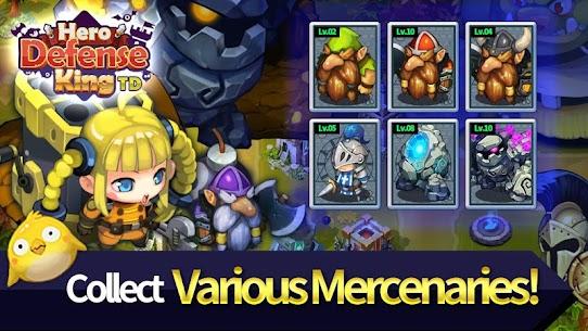Hero Defense King MOD (Unlimited Gems) 5