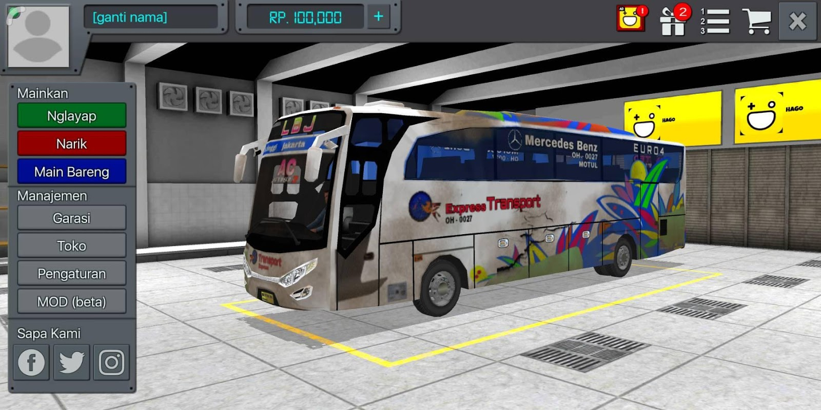 Livery Kotor Bussid New APK Latest Version Download - Free Racing