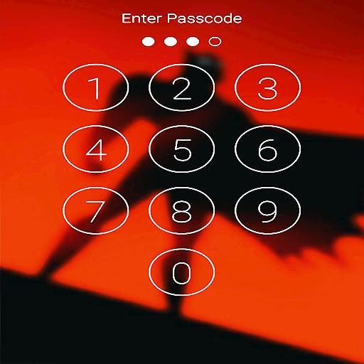 Bat Super Hero Passcode or pattern Lock Screen Icon