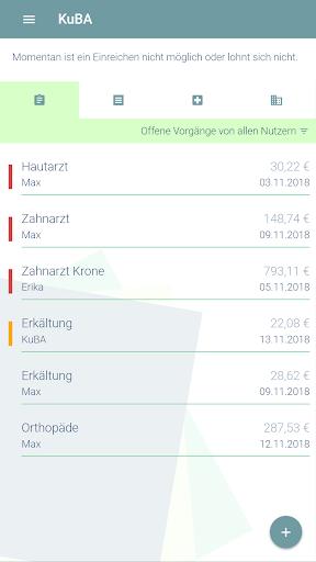 KuBA Privatrechnungsassistent screenshot 1
