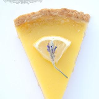 Lavender Lemon Tart.
