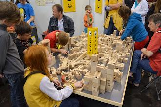 Photo: Cuboro, stavbičky s kuličkami.
