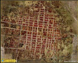 Photo: 1750 Ciudad de México con nombre de calles