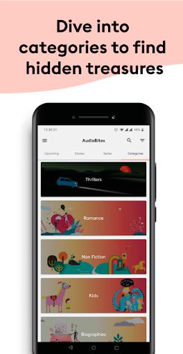 AudioBites by Storytel 0.2.7 screenshots 5