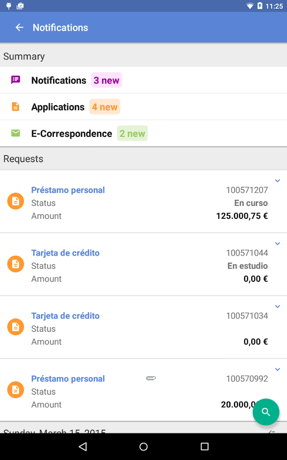 ABANCA- screenshot
