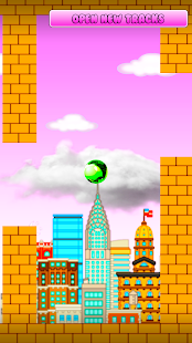 Red ball: wall classic new bouncing ball games - náhled